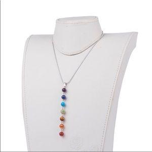 Jewelry - Spiritual Crystal Chakra Y Necklace